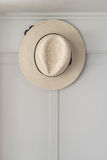 Brown hat hanging Royalty Free Stock Image