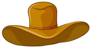 A brown hat Stock Images
