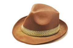 Brown hat Stock Image