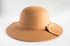 Brown hat. Royalty Free Stock Image