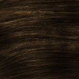Brown healthy clip-in hair texture Stock Photos