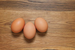 Brown hens eggs Royalty Free Stock Photos