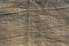 Brown hessian sack cloth texture. Abstract background and texture for esign royalty free stock photo