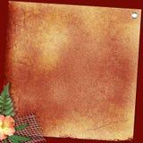 Brown-Hintergrund Stock Abbildung
