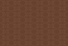 Brown-Hintergrund mit beige Muster Stockbilder