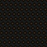 Brown-Hintergrund mit den Golddetails wiederholt lizenzfreie stockfotografie