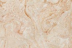 Brown-Hintergrund mit Elementen des Verbreitens der braunen Farbe und mit Effekt der Marmorbeschaffenheit Lizenzfreies Stockbild
