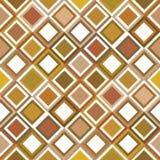 Brown-Hintergrund mit Quadraten Stockfotos