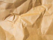 Brown-Hintergrund von den Papierumschlägen Lizenzfreie Stockfotografie