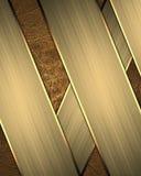 Brown-Hintergrund von gelben Streifen Element für Entwurf Schablone für Entwurf kopieren Sie Raum für Anzeigenbroschüre oder Mitt Stockbilder