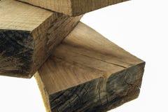 Brown-Holzplanken Stockbild