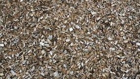 Brown-Holzsplitterungen Lizenzfreies Stockbild