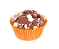 Brown homebaked cupcake Stock Photos