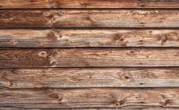 Brown horizontal board wall Stock Photos