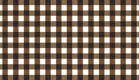 Brown horizontal Gingham pattern.Texture from rhombus for - plaid, tablecloths, clothes, shirts, dresses, paper, bedding, blanket. S, quilts and other textile royalty free illustration