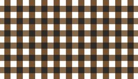 Brown horizontal Gingham pattern.Texture from rhombus for - plaid, tablecloths, clothes, shirts, dresses, paper, bedding, blanket. S, quilts and other textile vector illustration