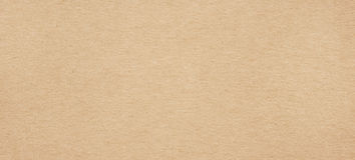 Brown horizontal recycled paper texture Stock Photos