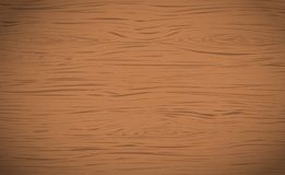 Brown horizontal wooden cutting, chopping board, table or floor surface. Wood texture.  Royalty Free Stock Image
