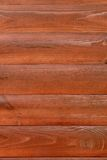 Brown horizontal wooden logs Stock Photography