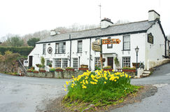 Brown Horse Inn at Easter time Stock Images