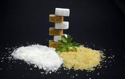 Brown 2017 i biały cukier Obraz Stock