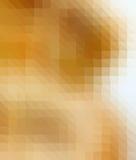 Brown i biały trójbok Zdjęcia Stock