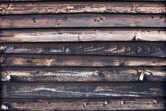 Brown i czarny drewniana tekstura Obraz Stock