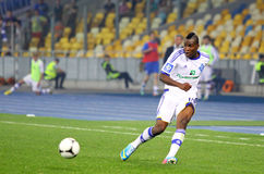 Brown Ideye of  FC Dynamo Kyiv Stock Images