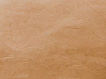 Brown idoso abstrato recicla o fundo de papel da textura da amoreira Imagem de Stock