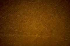 Brown imitation leather background texture Royalty Free Stock Photography