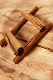 Brown �innamon sticks Stock Image