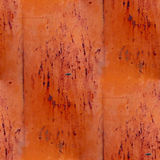 Brown iron seamless grunge abstract background Stock Image