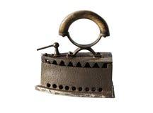 Brown iron Stock Photo