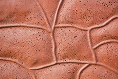 Brown, irregular, abstract background Stock Image