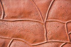 Brown, irregular, abstract background Stock Images