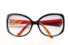 brown isolerade solglasögon Royaltyfri Bild