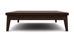 brown isolerat vitt trä för modern tabell vektor illustrationer