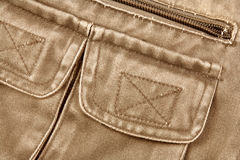 Brown jacket Royalty Free Stock Photography