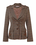 Brown jacket Royalty Free Stock Image