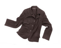 Brown jacket Royalty Free Stock Images