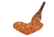 Brown jasmine rice Stock Photo
