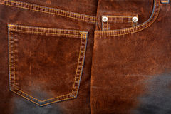 Brown jeans Royalty Free Stock Photo