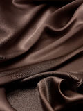 Brown jedwabiu tło Obrazy Stock