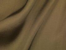 Brown jedwabiu tło Zdjęcia Stock
