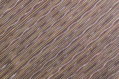 Brown jedwabniczej tkaniny wzoru tło zdjęcie stock