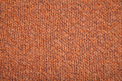 Brown jersey texture Stock Photography
