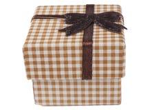 Brown Jewelry Box Royalty Free Stock Photos