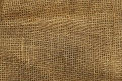 Brown jute bag texture background Royalty Free Stock Photos