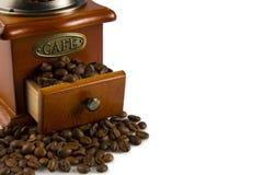 Brown-Kaffee, Hintergrundbeschaffenheit, Nahaufnahme Stockfotografie