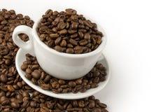 Brown-Kaffee, Hintergrundbeschaffenheit, Nahaufnahme Lizenzfreie Stockbilder
